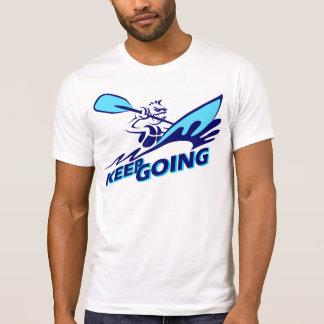 Camiseta Mantenha ir/transportar