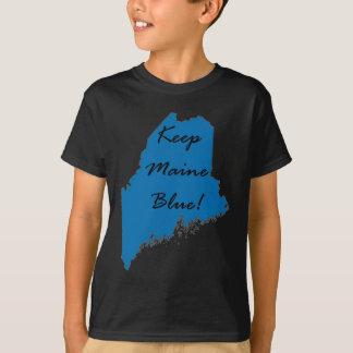 Camiseta Mantenha Maine azul! Orgulho Democrática!