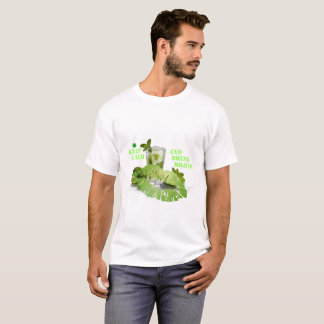 Camiseta Mantenha Mojito calmo