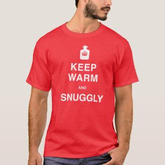 Camiseta Mantenha morno e confortavelmente - T