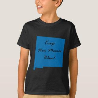 Camiseta Mantenha New mexico azul! Orgulho Democrática!