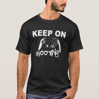 Camiseta mantenha no tiro