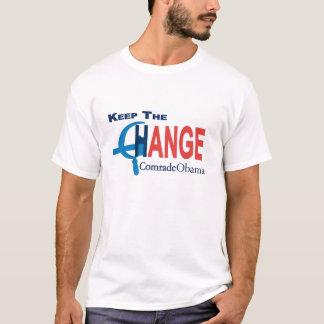 Camiseta Mantenha o camarada da mudança