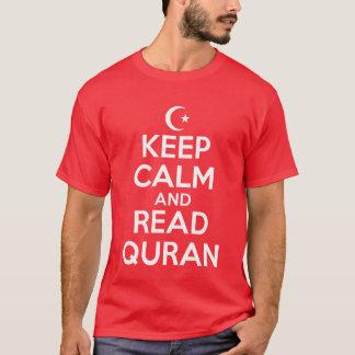 Camiseta Mantenha o Corão lido calma