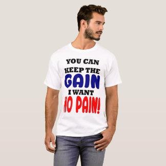 Camiseta Mantenha o ganho