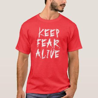 Camiseta Mantenha o medo vivo