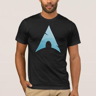 Camiseta Mantenha-o simples, estúpido - arco Linux