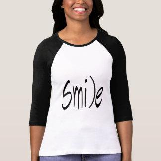 Camiseta Mantenha-o t-shirt do smiley