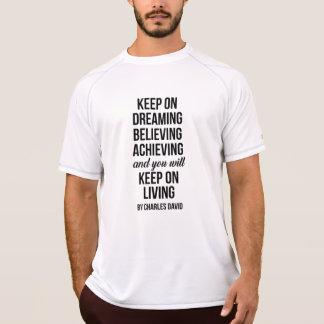 Camiseta Mantenha sobre