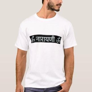 Camiseta mantra sânscrito: Deusa Lakshmi: Riqueza, dinheiro