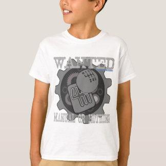 Camiseta manual querido ou nada (caixa de engrenagens)