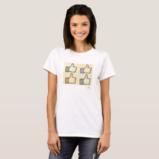 Camiseta Manuseia up/Like ele muito t-shirt