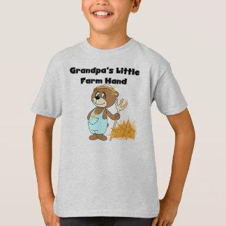 Camiseta Mão de fazenda do vovô pouca