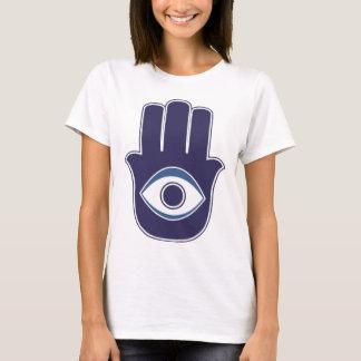 Camiseta Mão de Hamsa/Khamsa de Fatima/de amuleto/sorte de