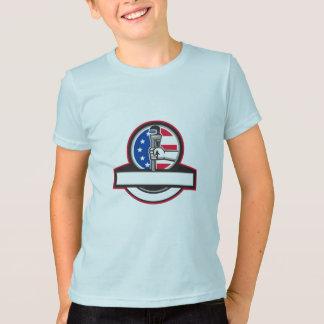 Camiseta Mão do canalizador que guardara o círculo Banne da
