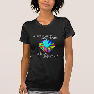 Camiseta Mão esquerda criativa
