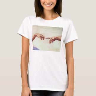 Camiseta Mãos de Michelangelo