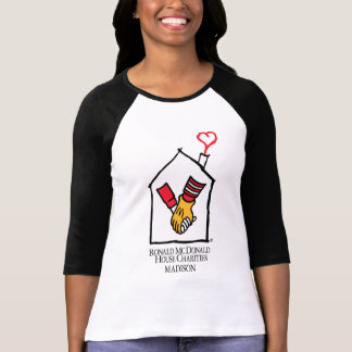 Camiseta Mãos de Ronald McDonald