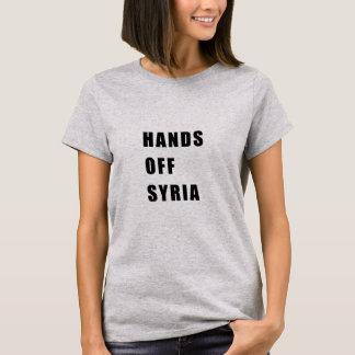 Camiseta Mãos fora de Syria