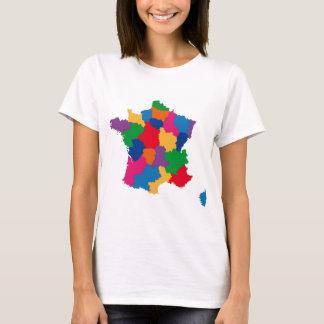 Camiseta Mapa de France