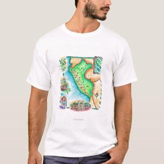 Camiseta Mapa de Peru