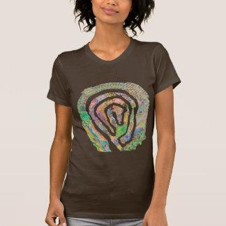Camiseta Mapa do jardim do labirinto