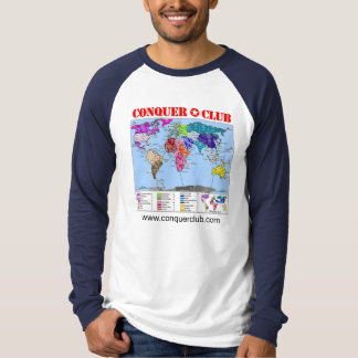 Camiseta Mapa do mundo 2,1