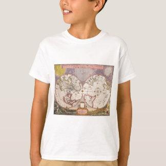 Camiseta Mapa do mundo antigo