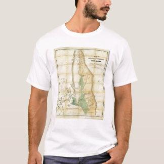 Camiseta Mapa do vale do Sacramento