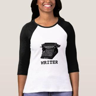Camiseta Máquina de escrever antiga do escritor
