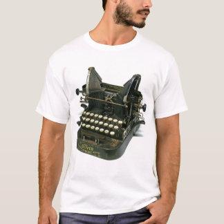 Camiseta Máquina de escrever de Oliver #3 do vintage