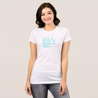 Camiseta Máquina de escrever do Aqua de