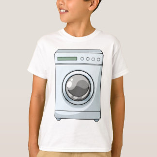 Camiseta Máquina de lavar