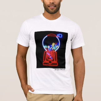 Camiseta Máquina de néon da pastilha elástica