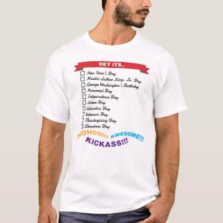 Camiseta Máquina desbastadora do feriado do orçamento