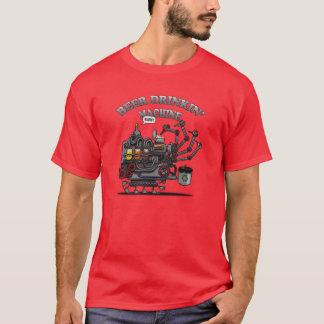 Camiseta Máquina do bebendo da cerveja