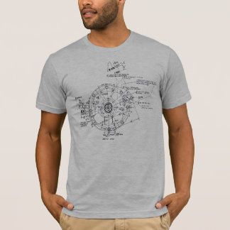 Camiseta Maquinaria complicada feita por seres humanos