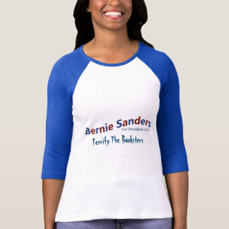 Camiseta Máquinas de lixar de Bernie para o t-shirt do