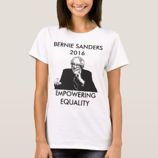 Camiseta Máquinas de lixar de Bernie que autorizam a