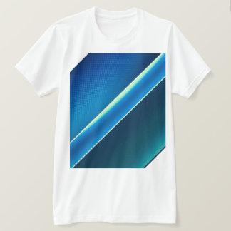 Camiseta Mar do azul do t-shirt dos homens