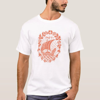 Camiseta Mar, navio & Sun