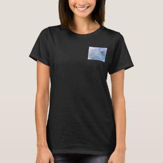 Camiseta Maravilhas do lírio de água da oração da