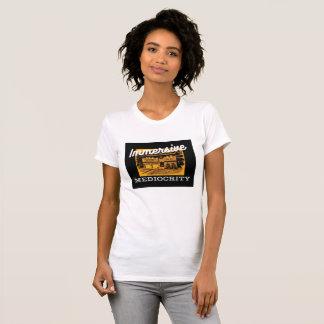 Camiseta Marca da mediocridade de Immersive: baixo-testa em