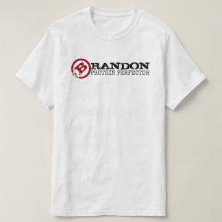 Camiseta Marca da PROTEÍNA PERFECTOR do CHURRASCO engraçada