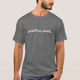 Camiseta . marca de .question…