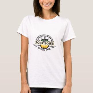 Camiseta marcador amarelo de boise do forte