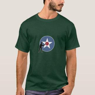 Camiseta Marcador e infantaria do país de A&A EUA