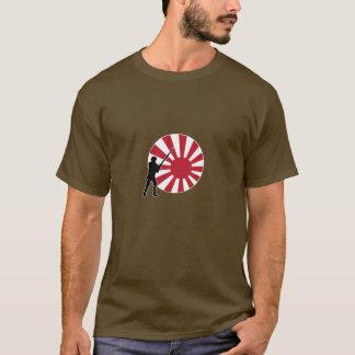 Camiseta Marcador e infantaria do país de A&A Japão