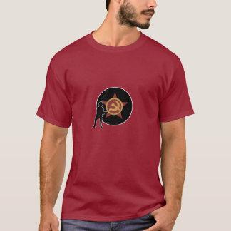 Camiseta Marcador e infantaria do país de A&A URSS