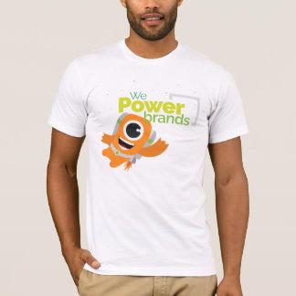 Camiseta Marcas do poder